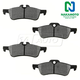 1ABPS00696-Mini Cooper Brake Pads Rear