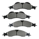 1ABPS00697-2007-10 Brake Pads Front