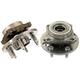 1ASHS00559-Wheel Bearing & Hub Assembly Rear Pair