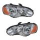 1ALHP00406-2003-05 Chrysler Sebring Headlight Pair
