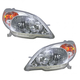 1ALHP00400-2003-08 Toyota Matrix Headlight Pair