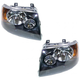 1ALHP00418-2003-06 Ford Expedition Headlight Pair