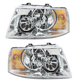1ALHP00417-2003-06 Ford Expedition Headlight Pair