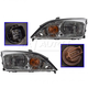 1ALHP00414-2005-07 Ford Focus Headlight Pair