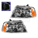 1ALHP00429-2003-06 Lincoln Navigator Headlight Pair