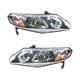 1ALHP00423-Honda Civic Civic Hybrid Headlight Pair