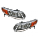 1ALHP00424-2006-08 Honda Civic Headlight Pair