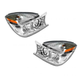 1ALHP00420-2004-05 Buick Rendezvous Headlight Pair