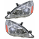1ALHP00421-2003-07 Honda Accord Headlight Pair
