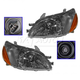 1ALHP00327-2000-02 Toyota Echo Headlight Pair