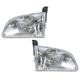 1ALHP00313-1998-00 Toyota Sienna Headlight Pair