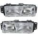 1ALHP00345-Oldsmobile Headlight Pair