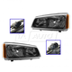 1ALHP00342-Chevy Headlight Pair