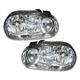 1ALHP00343-Volkswagen Cabrio Golf Headlight Pair