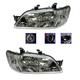 1ALHP00336-2002-03 Mitsubishi Lancer Headlight Pair