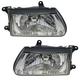 1ALHP00335-Honda Passport Isuzu Rodeo Headlight Pair
