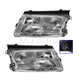 1ALHP00339-Volkswagen Passat Headlight Pair