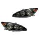 1ALHP00363-2005-06 Toyota Camry Headlight Pair