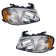 1ALHP00361-2001-04 Mazda Tribute Headlight Pair