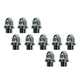 1AWHC00047-Mag Hex Lug Nut (Box of 10) Chrome