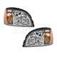1ALHP00385-2000-02 Cadillac Deville Headlight Pair