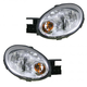 1ALHP00386-2003-05 Dodge Neon Plymouth Neon Headlight Pair