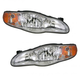 1ALHP00378-2000-05 Chevy Monte Carlo Headlight Pair