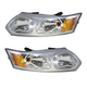 1ALHP00379-2003-07 Saturn Ion Headlight Pair