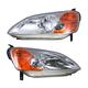 1ALHP00390-2001-03 Honda Civic Headlight Pair
