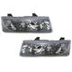 1ALHP00399-2002-04 Saturn Vue Headlight Pair