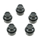 1AWHC00017-1996-02 Chevy Astro GMC Safari Lug Nut Cap Black