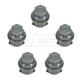 1AWHC00029-Lug Nut Cap Gray