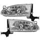 1ALHP00307-1998-02 Chevy Prizm Headlight Pair