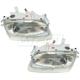 1ALHP00309-Mazda Protege Headlight Pair