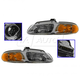 1ALHP00224-2000 Headlight Pair