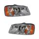 1ALHP00228-2000-02 Hyundai Accent Headlight Pair