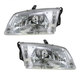 1ALHP00214-2000-02 Mazda 626 Headlight Pair