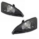 1ALHP00216-2003-04 Ford Focus Headlight Pair