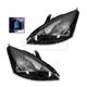 1ALHP00202-2002-04 Ford Focus Headlight Pair