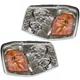 1ALHP00207-GMC Envoy Envoy XL Envoy XUV Headlight Pair