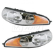 1ALHP00205-2000-05 Buick LeSabre Headlight Pair