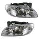 1ALHP00251-1996-98 Pontiac Grand Am Headlight Pair