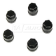 1AWHC00008-Lug Nut Cap Black