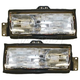 1ALHP00233-1989-90 Cadillac Deville Fleetwood Headlight Pair