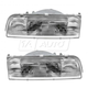 1ALHP00295-1988-92 Mazda 626 Headlight Pair