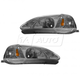 1ALHP00285-1999-00 Honda Civic Headlight Pair