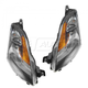 1ALHP00634-2007 Nissan Altima Altima Hybrid Headlight Pair