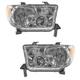 1ALHP00638-Toyota Sequoia Tundra Headlight Pair