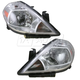 1ALHP00636-Nissan Versa Headlight Pair