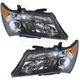 1ALHP00637-2007-09 Acura MDX Headlight Pair